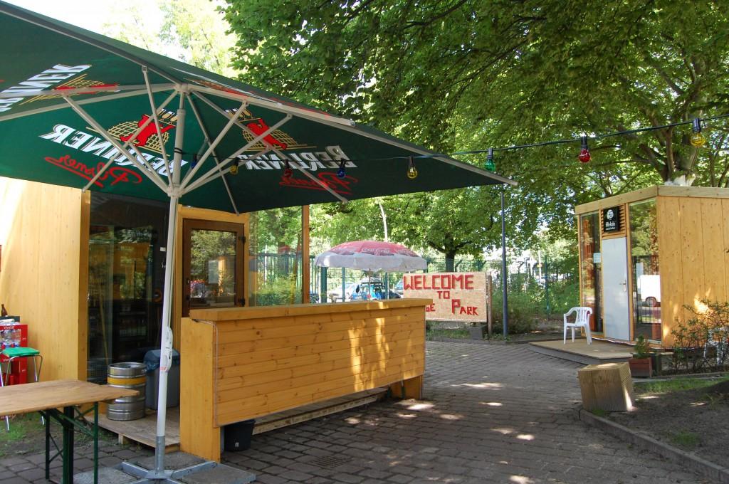Biergarten - kleine Bar