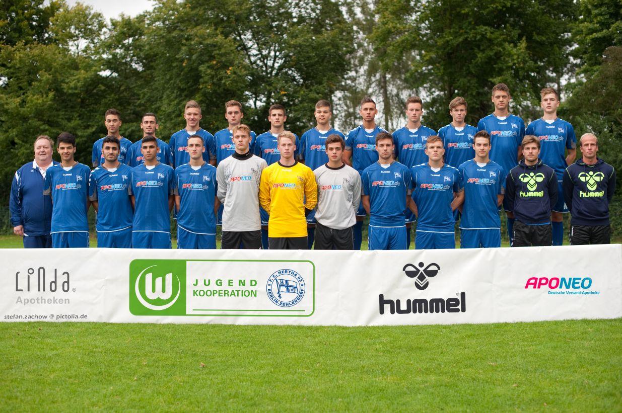 Hertha 03 Zehlendorf  Mannschaft1