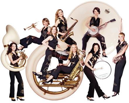 Damenorchester Salome Presse