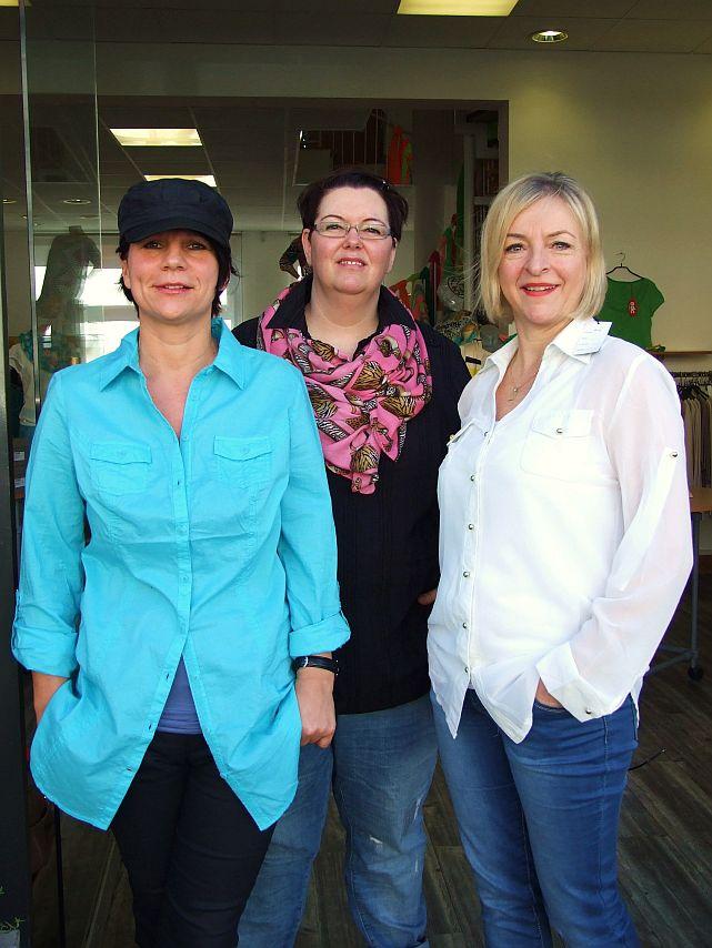 Modeblitz 11 - Kerstin, Nicole und Birgit clique
