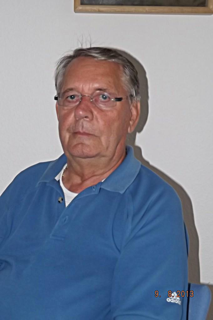 Siegfried Hahn, damals Sportwart der Spvgg Blau Weiß 90, Gründungsmitglied des Folge-Vereins SV Blau Weiss Berlin e.V