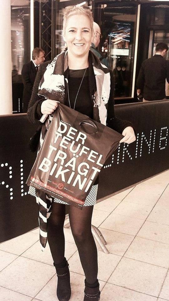 Bikini Berlin - Anita Tusch Foto Tina Ellen Ciftci