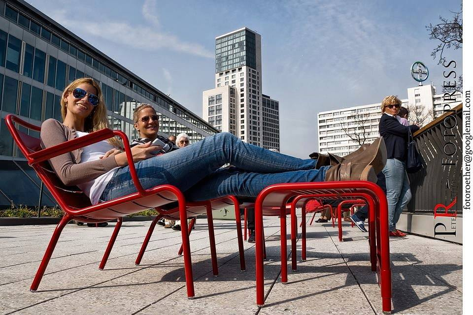 Foto Peter Proetter - Bikini Berlin Eroeffnung - Tina Ellen Ciftci und Anita Tusch