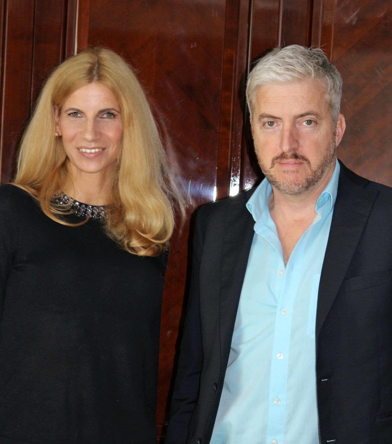 Tina Ellen Ciftci traf den neuseeländischen Autor Anthony McCarten in Berlin