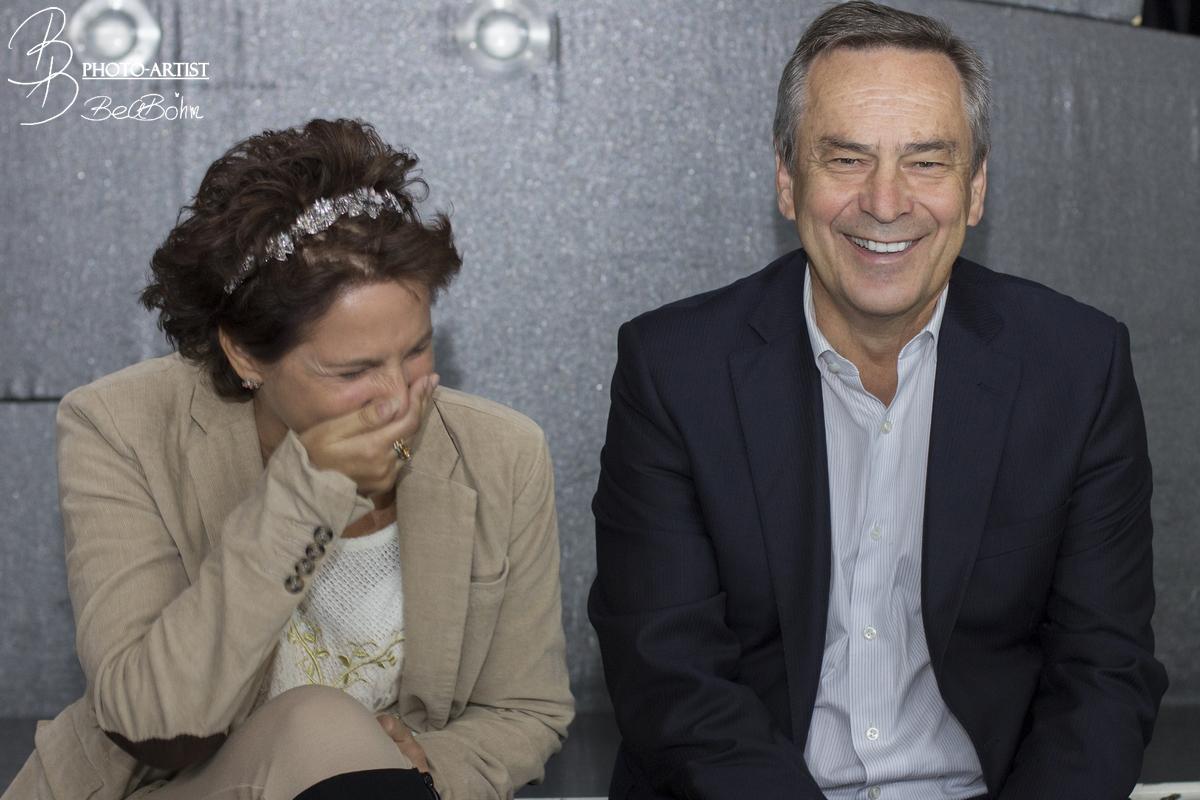 """im Gespräch mit CLIQUE- Herausgeberin Anita Tusch - Musicalproduzent Bernhard Kurz von """"Stars in Concert"""""""