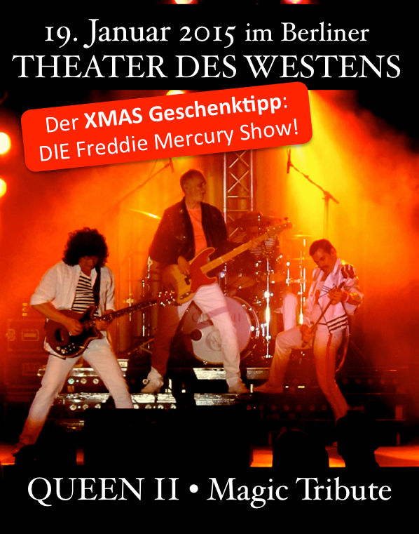 queen II magic - Theater des Westens
