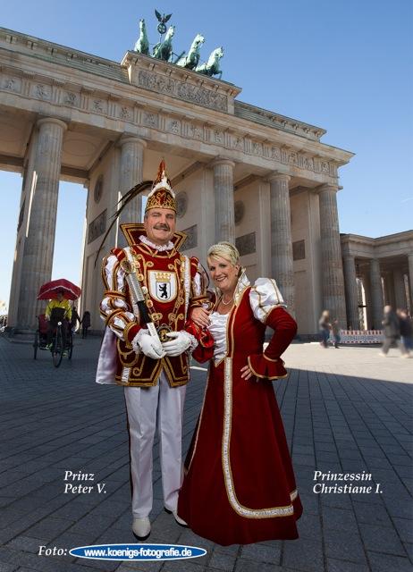 Prinz Peter V. und Prinzessin Christiane I.