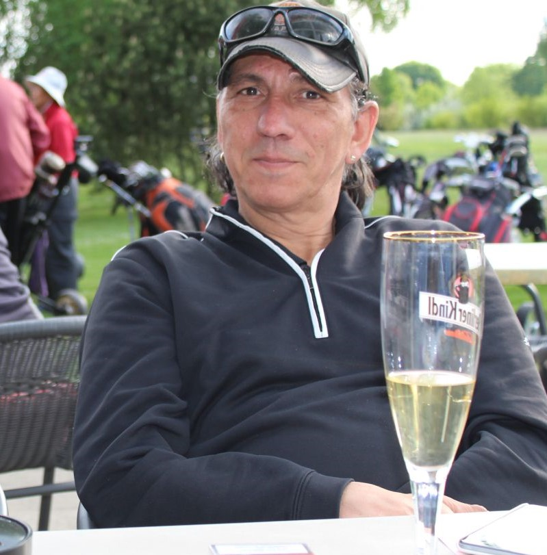 Mutzi, Initiator dieses Golf-Ausfluges #Texas Scramble
