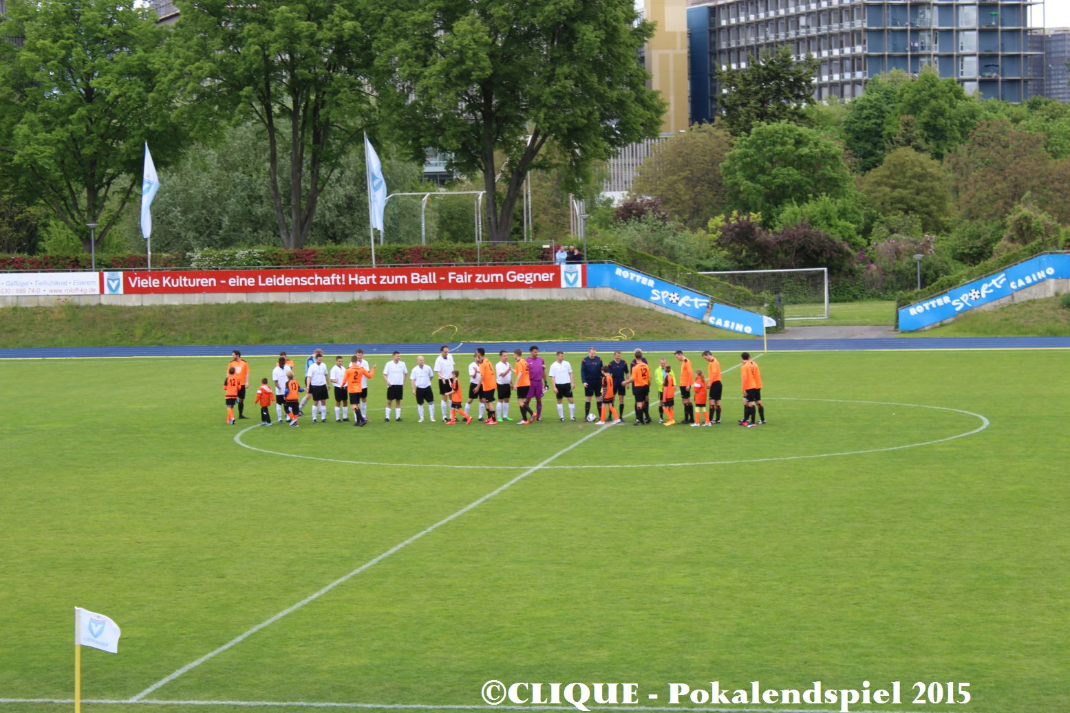 Pokalendspiel Berlin