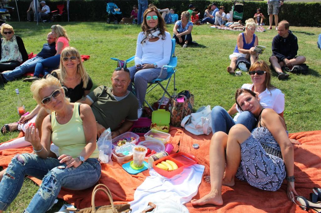 Wir haben es uns gemütlich gemacht #picknick