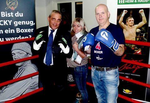 Mario Achour, Ines Achour und Karsten Heiderich