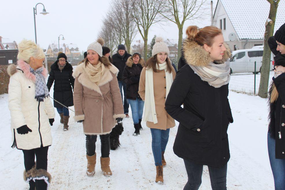 gemeinsamer Spaziergang