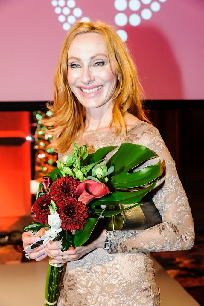 Andrea Sawatzki erhält den Victress of the Year Award 2016