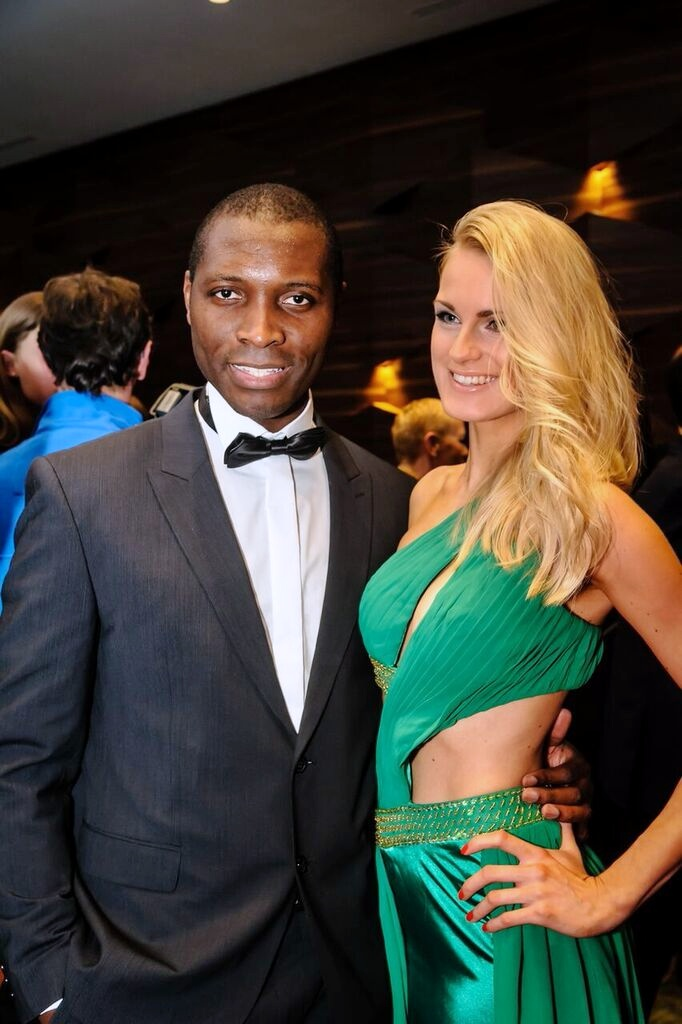 Anne-Kathrin Kosch- Miss Germany 2011 und Model Thierry Bisso