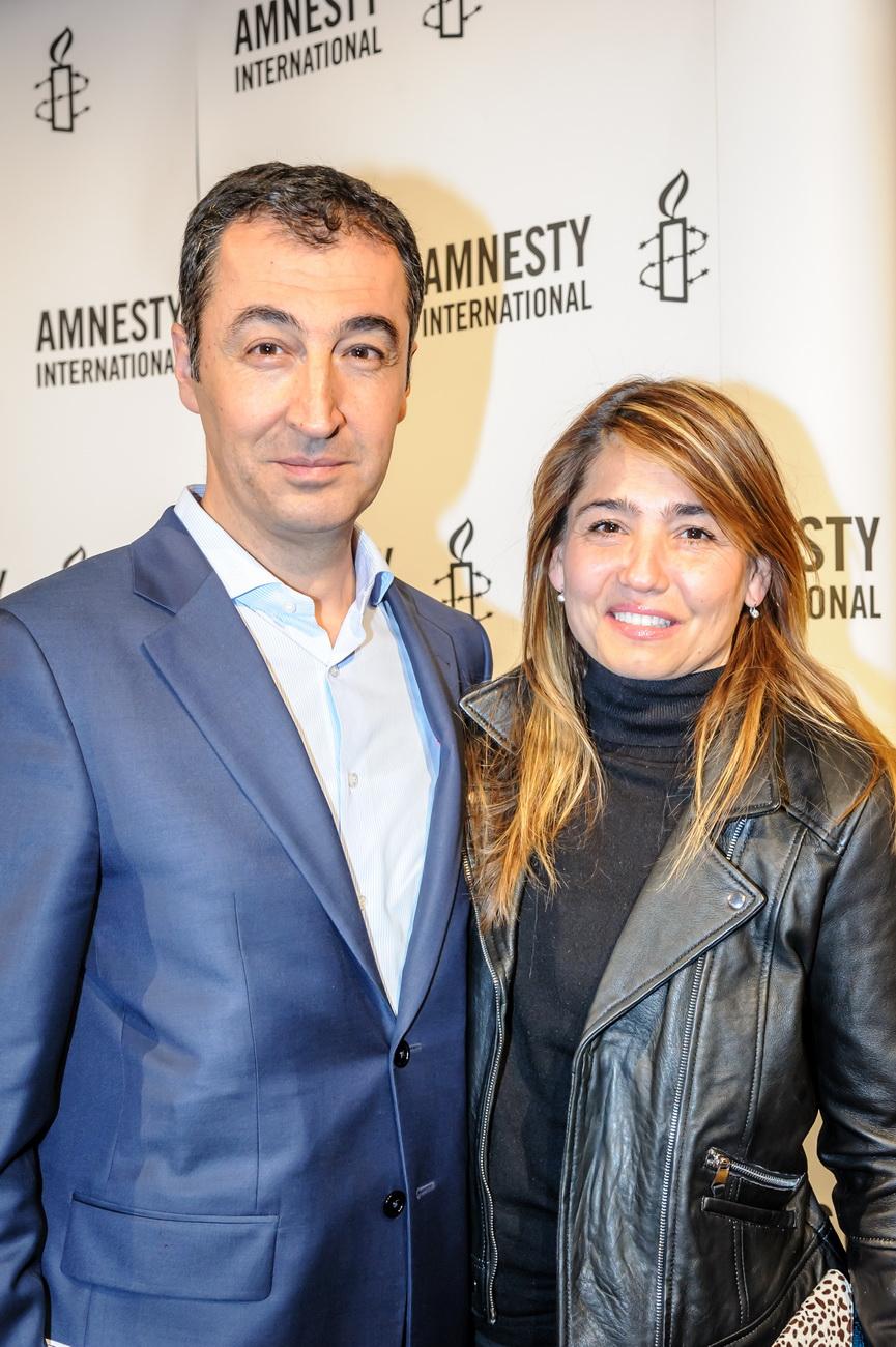 Cem Özdemir mit Ehefrau Pia Maria Castro