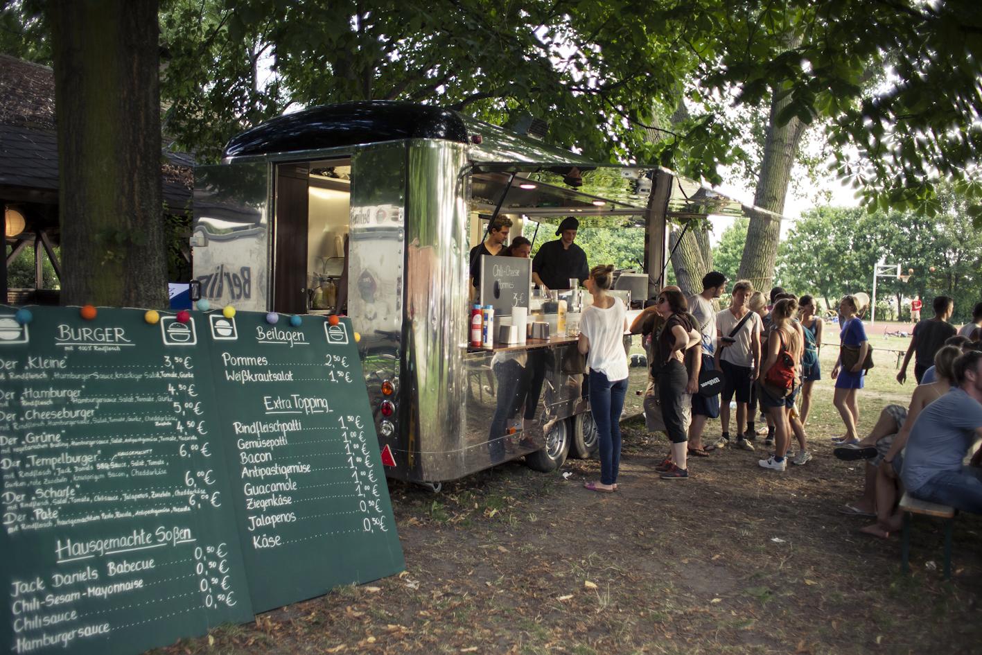 Der Retro-Wagen des Tempelburgers (Foto Tempelburger)