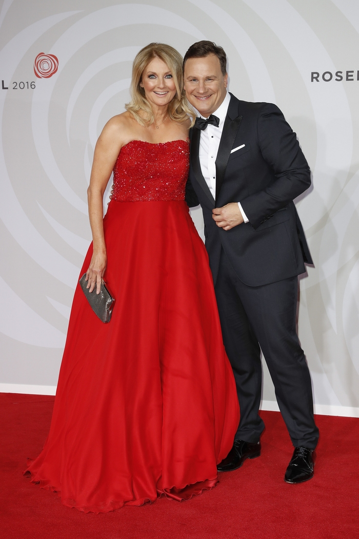 Frauke Ludowig und Guido Maria Kretschmer (Photo by Franziska Krug/Getty Images)