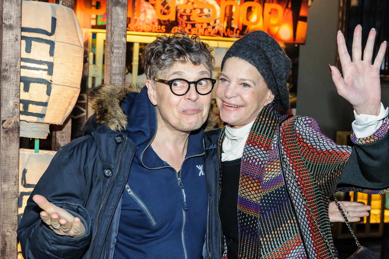 Rolf Scheider und Barbara Herzsprung beim VIP Opening