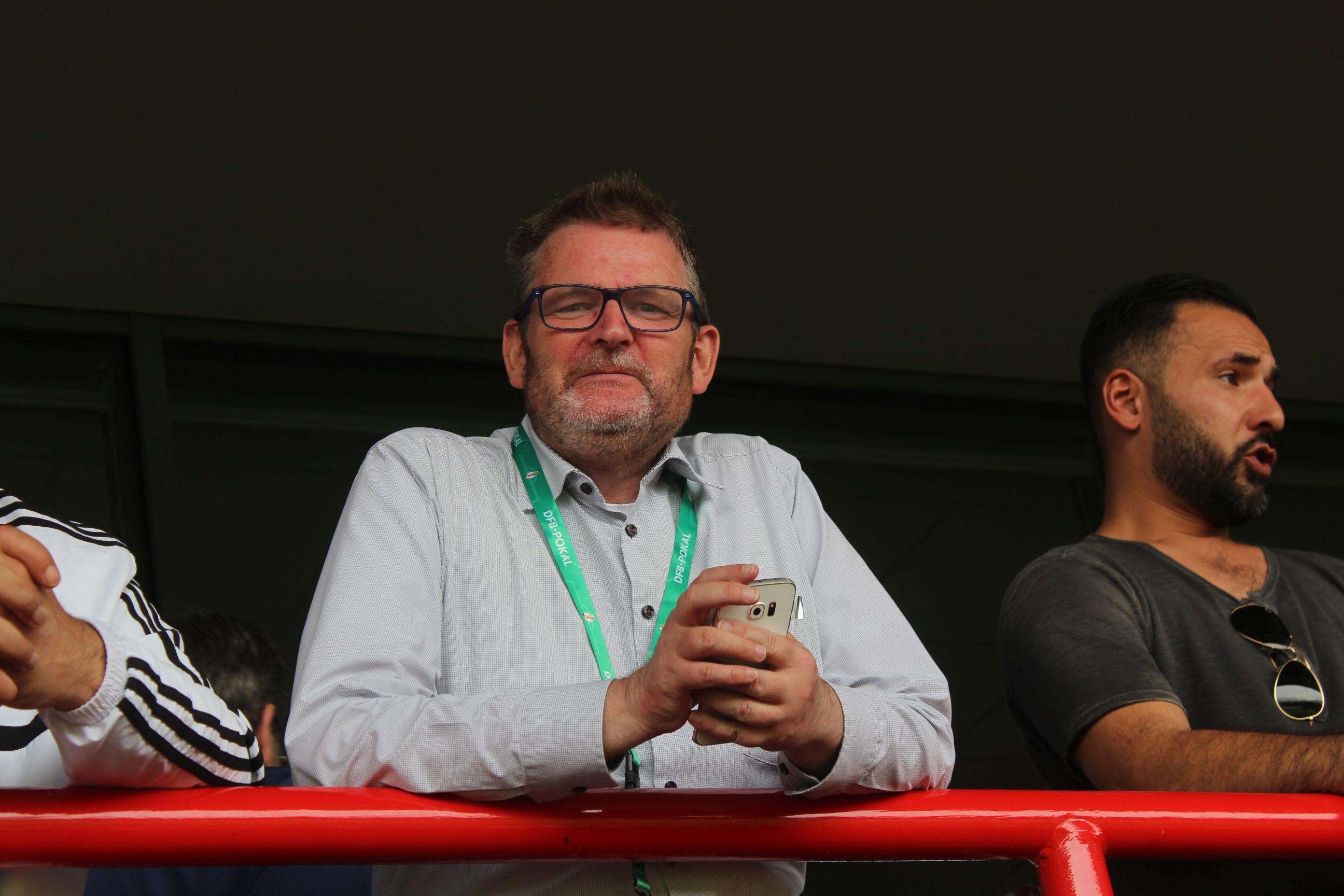 Fred Boettcher, Geschäftsführer BFC Preussen