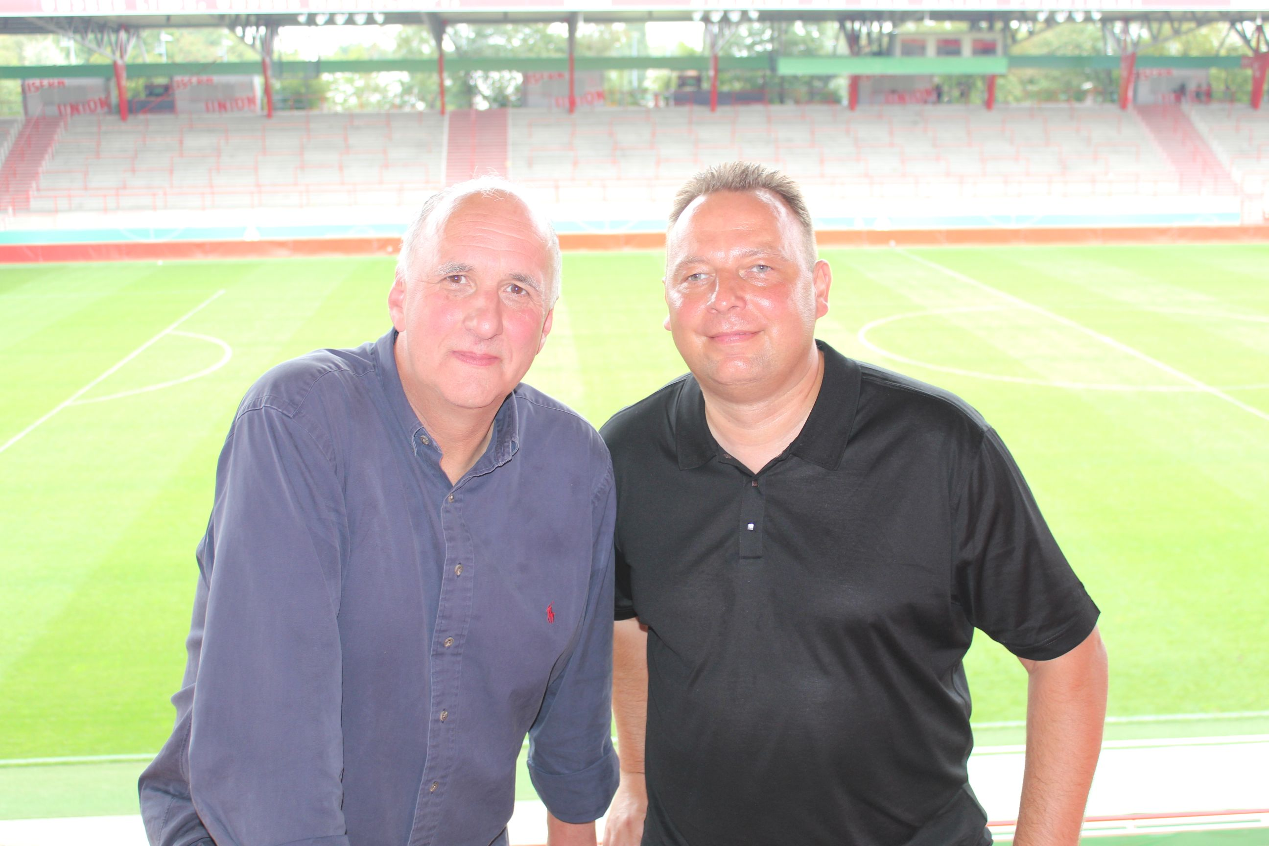 Uwe Utz und Peer Seifert