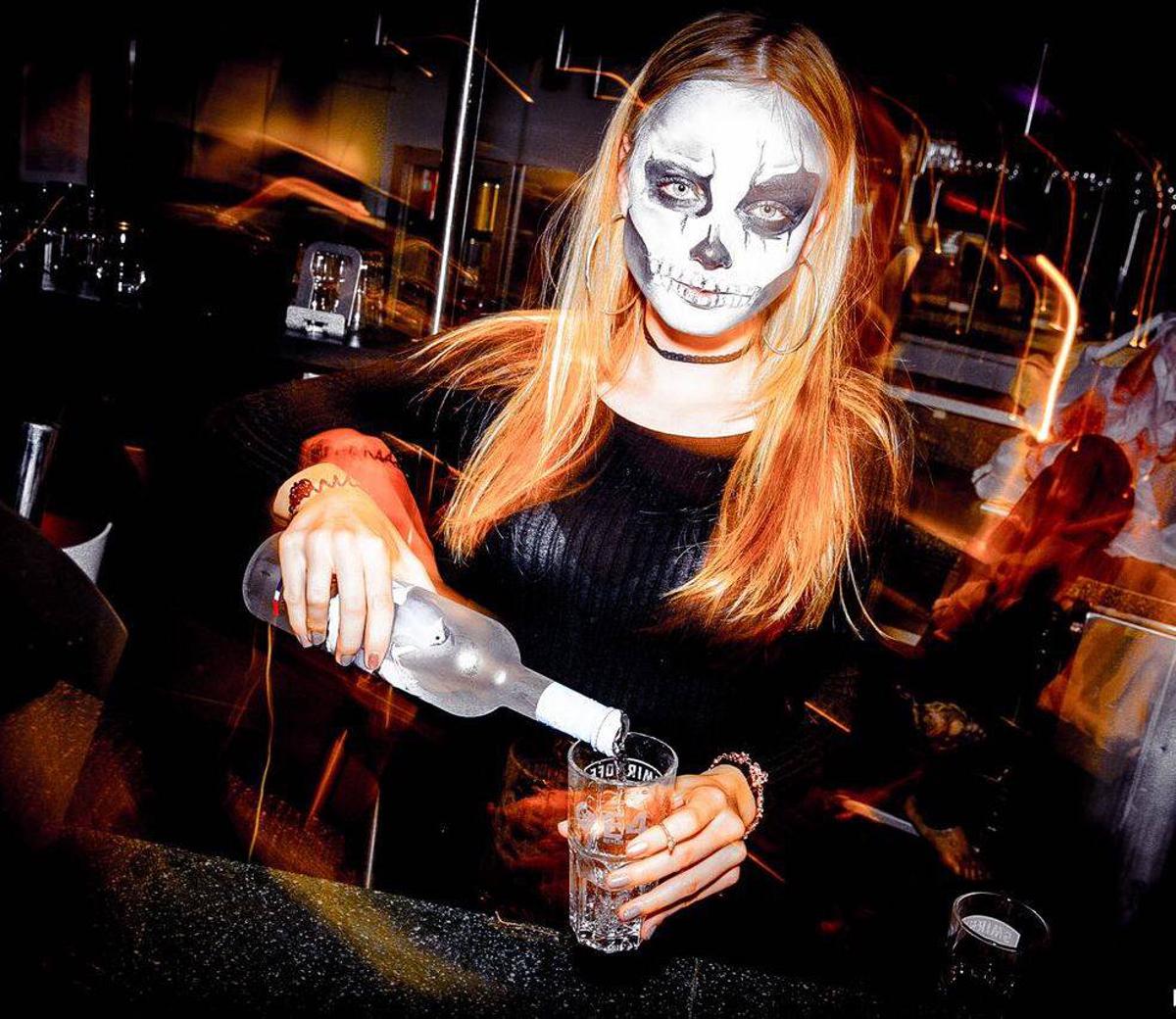 Halloween im E4 Foto E4 Club Berlin