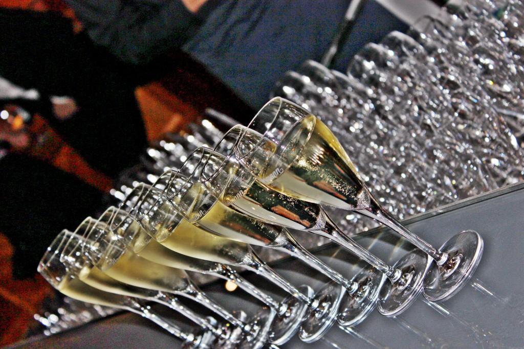 Der Champagner floss wieder in Strömen