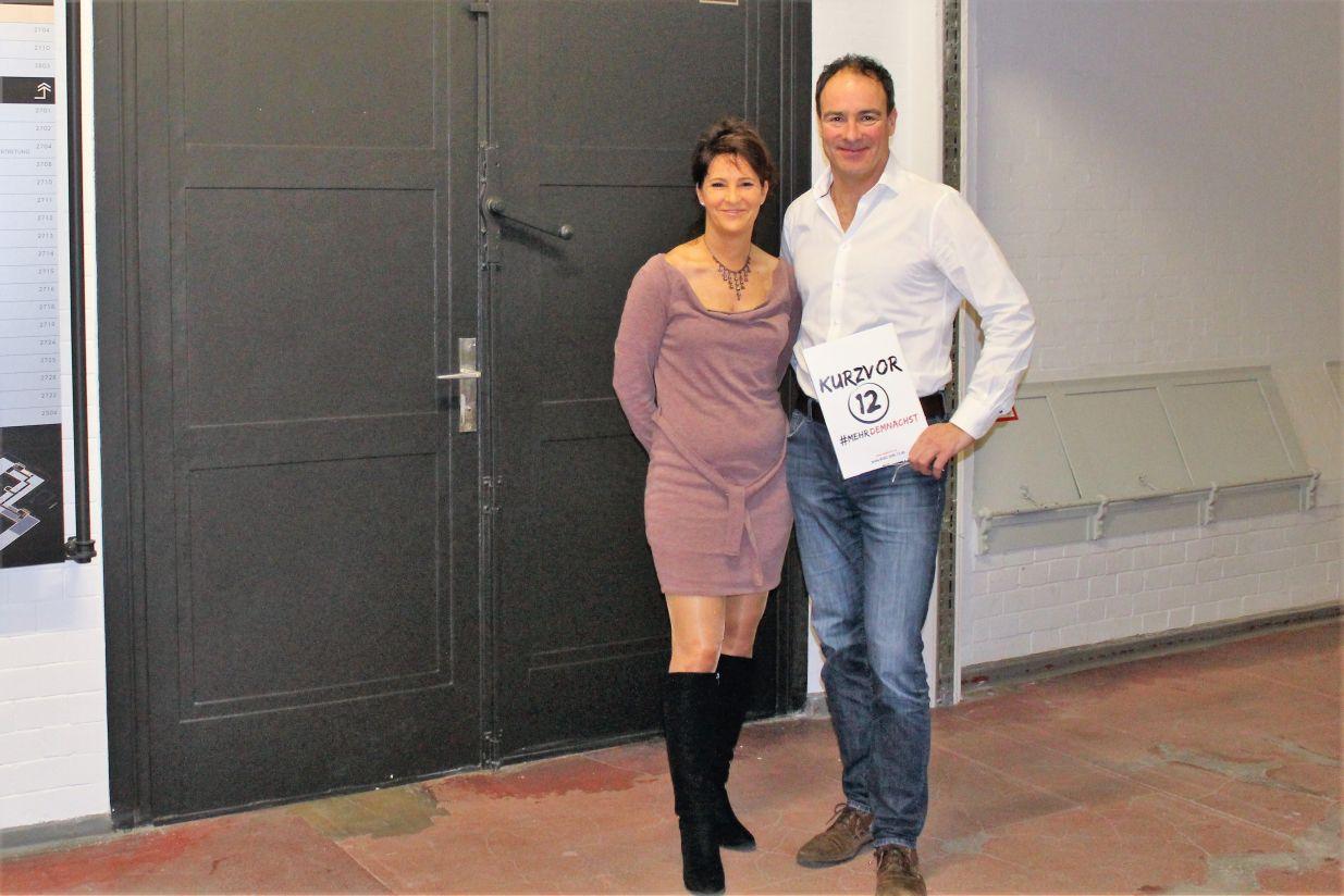 Anita Tusch und Silvio Schobinger im Gespraech goerzwerk