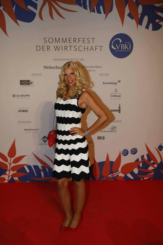 Tina Ellen Ciftci/ Bloggerin Ellenglam, Sommerfest der Wirtschaft 2017