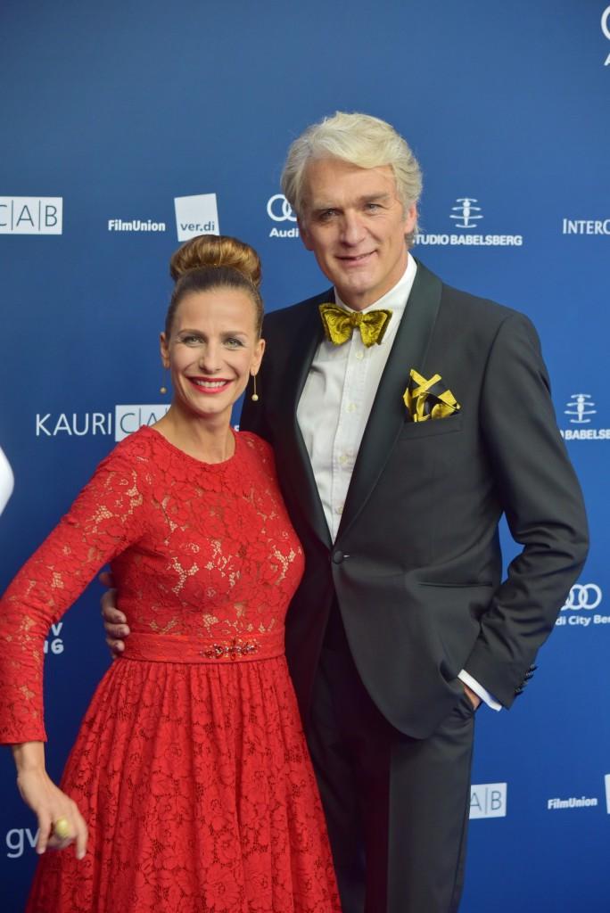 Nadine Heidenreich und Walter Sittler moderierten das Event