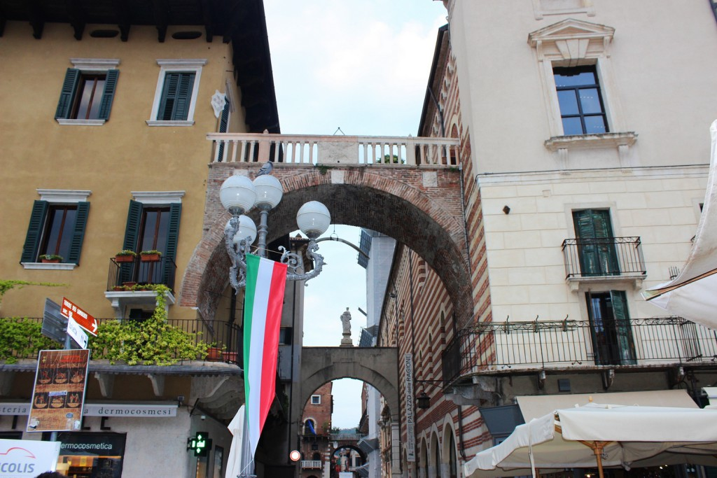 Piazza della Erbe Italien