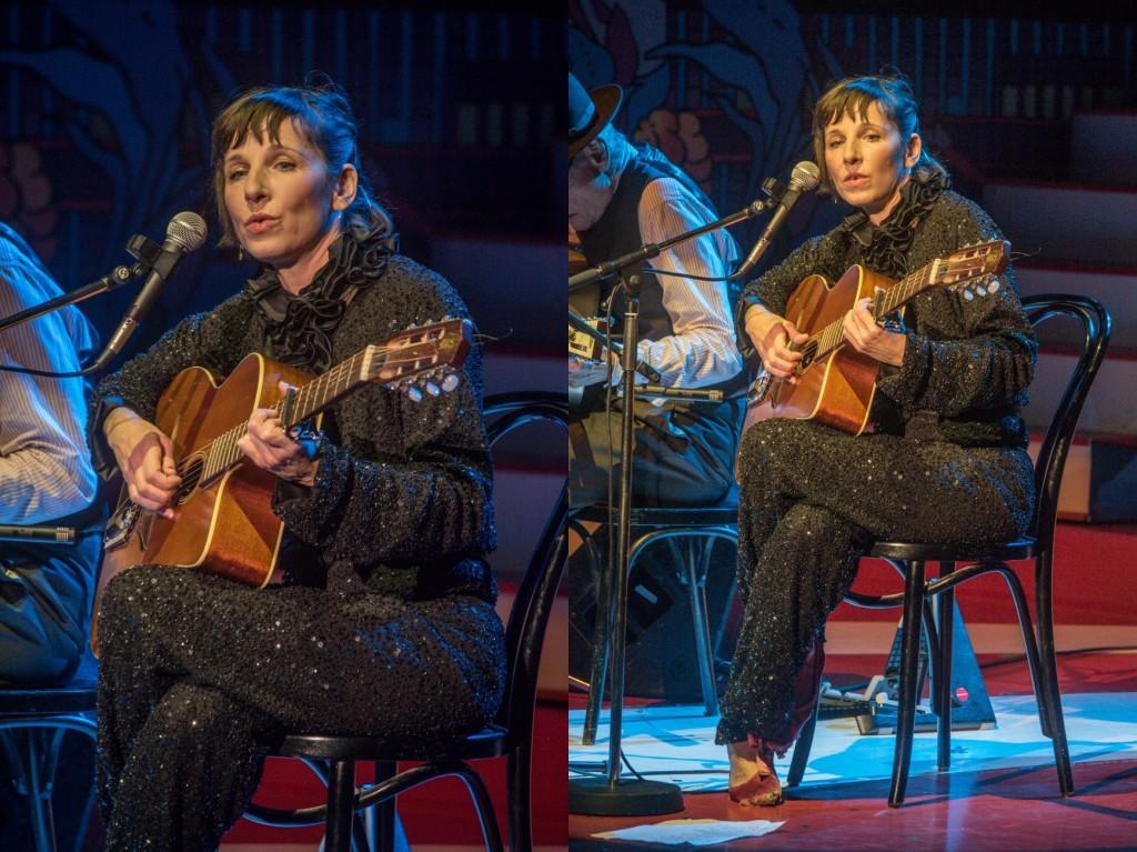Meret Becker live im Wintergarten