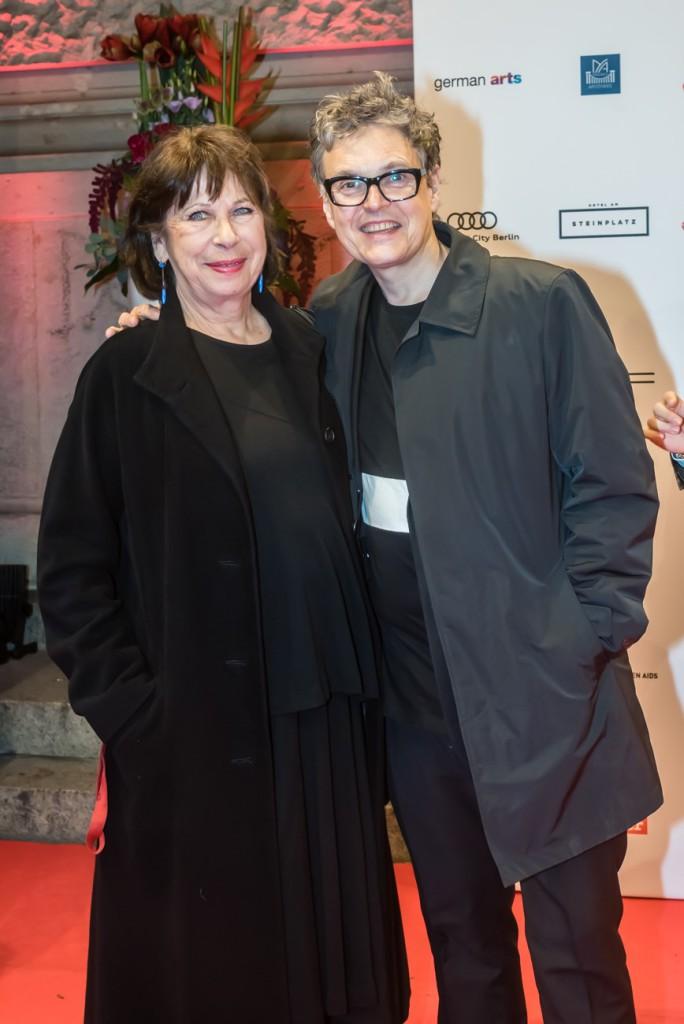 Monika Hansen and Rolf Scheider, Künstler gegen Aids