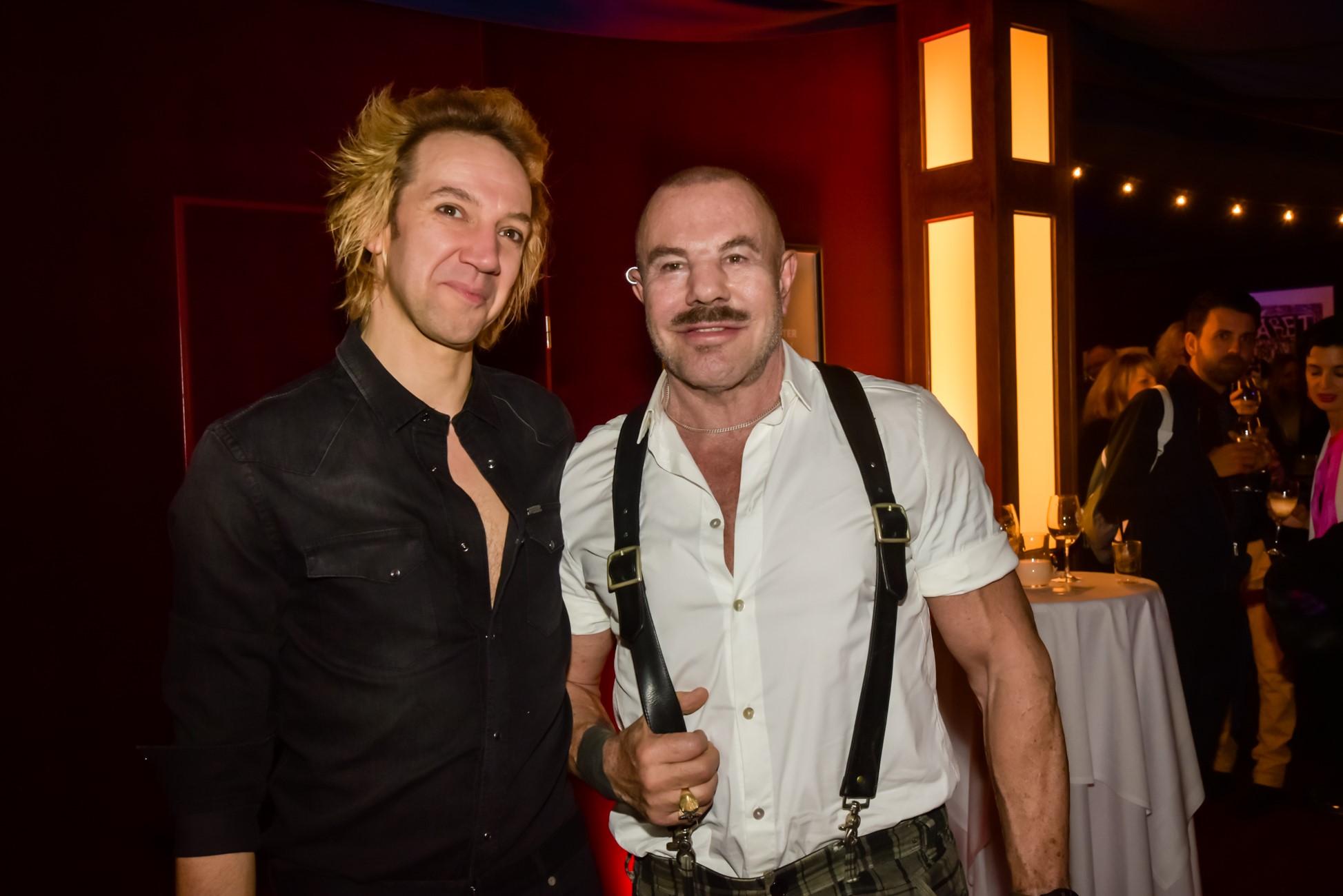 Sven Ratzke mit Thierry Mugler
