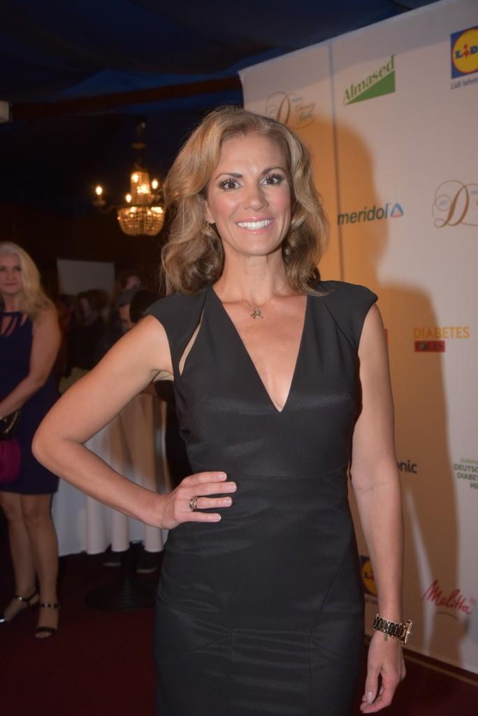 Kerstin Linnartz auf der 7. Diabetes Charity Gala im Tipi am Kanzleramt Berlin Halbfigur