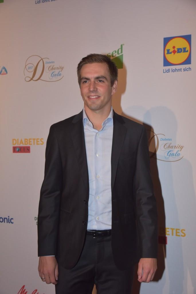 Philipp Lahm auf der 7. Diabetes Charity Gala im Tipi am Kanzleramt © Manfred Behrens