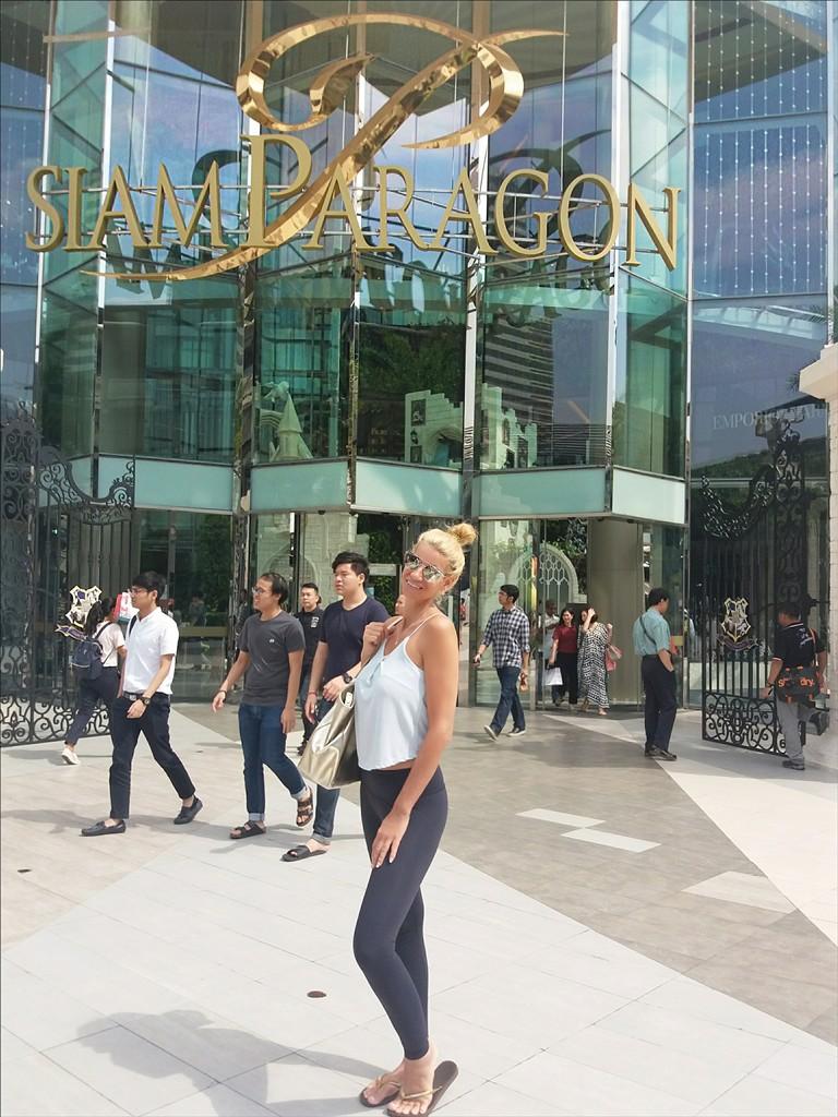 Siam Paragon ist eine der schönsten Malls in Bangok