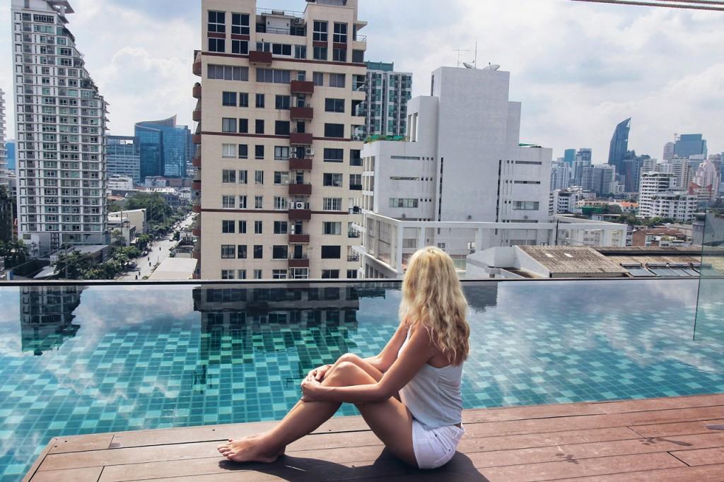 Residence Thonglor in Bangkok. Ein Hotel in sehr guter Lage in einem meiner Lieblingsbezirke
