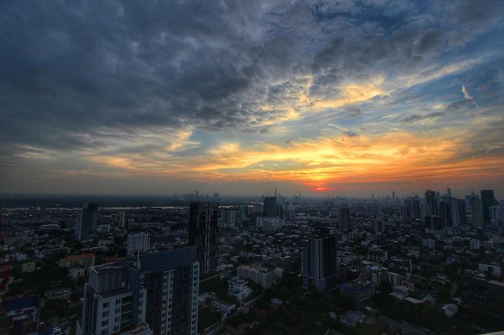 Sonnenuntergang Bangkok