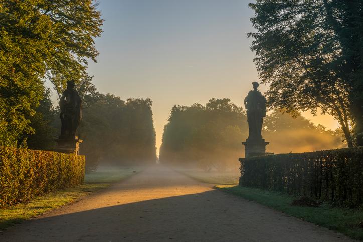 Sanssouci Park in Potsdam