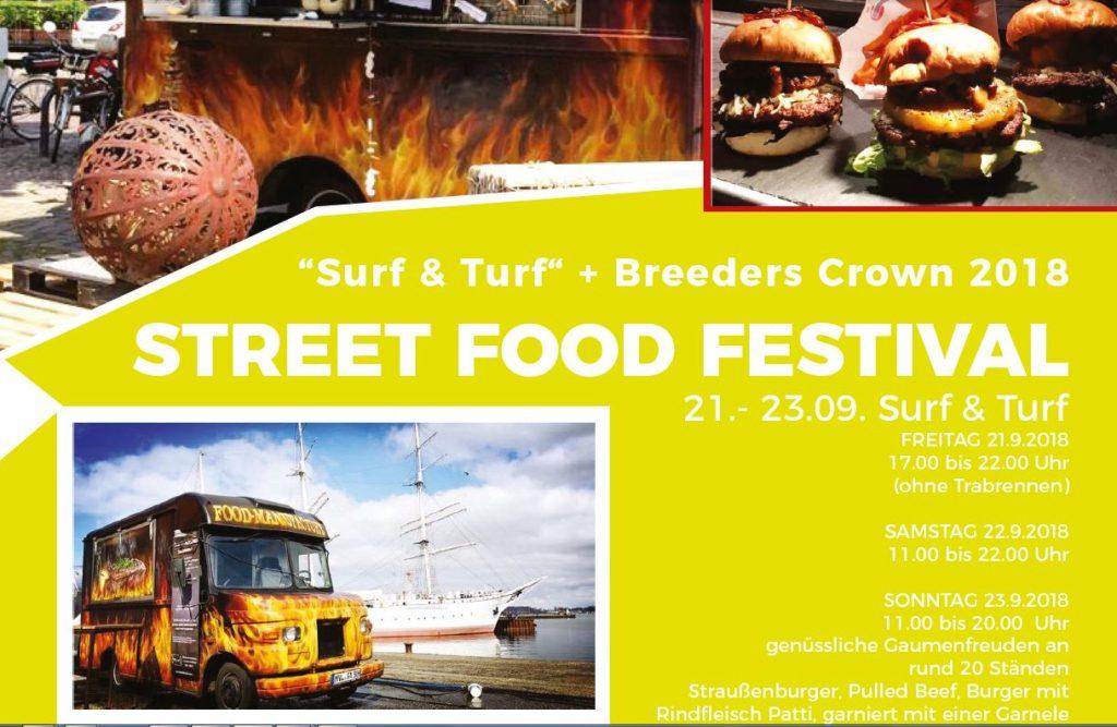 21.-23.9.2018 Street Food Festival zur Breeders Crown 2018